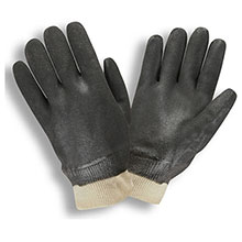 Cordova 5100SI Black Double Dipped PVC Gloves