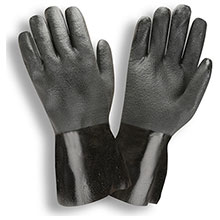 Cordova 5112J Black Double-Dipped PVC glove