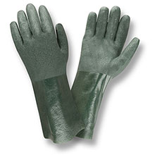 Cordova 5214J Green Double Dipped PVC glove