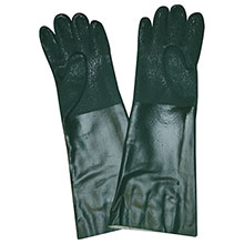 Cordova 5218J Green Double Dipped PVC glove