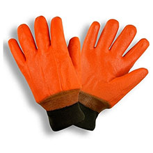Cordova 5700F Double-Dipped Orange PVC Glove