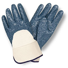Cordova 6850R Rough Nitrile-Dipped Glove