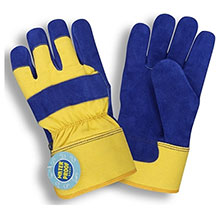 Cordova 7465 Blue Side Split Leather Glove