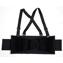 Cordova BSB01 Black Back Support Belt