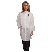 Cordova Heavy Weight White Polypropylene Lab Coat LC553XL
