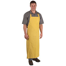 Cordova .35mm Yellow PVC Poly Apron Attached RA35Y