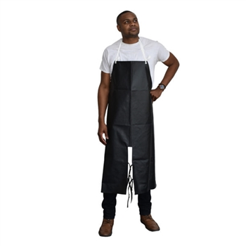 Black Neoprene/Nylon Apron, Limited FR, Split Leg