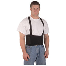 Cordova Back Support Belt Attached Suspenders SB