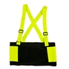 Cordova SB100 Hi-Vis Back Support Belt Lime Green