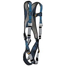 DBI/SALA Safety Harness Medium Blue Silver Exofit Vest Style 1107976