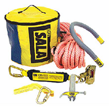 DBI/SALA Fall Protection Kit Saflok Steel Structure Arrest System 2104810