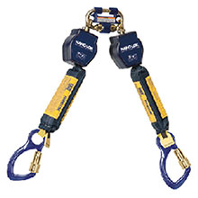 DBI/SALA Life Line Nano Lok Twin Leg Self Retracting Lifeline 3101275