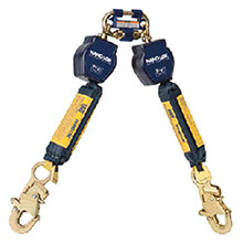 DBI/SALA Life Line Nano Lok Twin Leg Self Retracting Lifeline 3101279