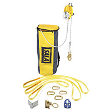 DBI/SALA Fall Protection Kit 100 Rollgliss R500 Rescue Escape Decender 3322100