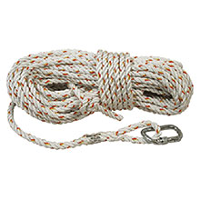 DBI/SALA 5 8in X 50 Nylon Rope Lifeline AC215A1