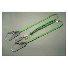 Miller Honeywell Lanyard 6 Green Two Leg Manyard HP Shock Absorbing 231TWRSZ76FT