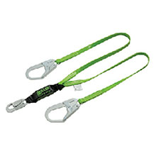 Miller by Honeywell Lanyard 6 Green Two Leg Vinyl Coated 8798PCR6FTGN