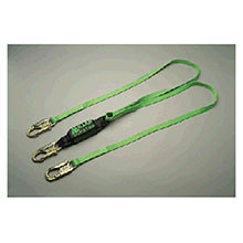 Miller by Honeywell Lanyard 6 Green Two Leg HP 8798T6FTGN