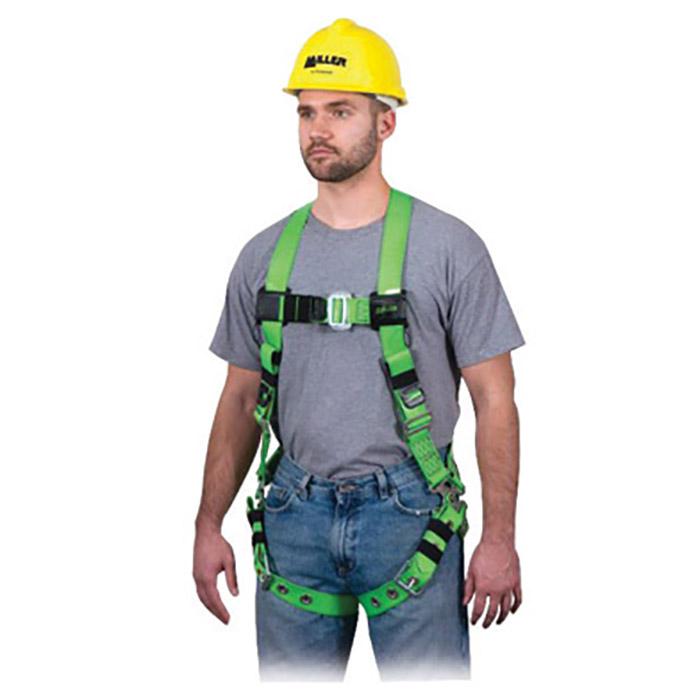 Miller Honeywell Safety Harness Universal Green Vinyl