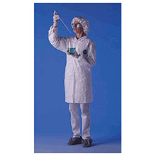 Dupont  X Large White 5.4 mil Tyvek Disposable Labcoat TY212SWHXL00