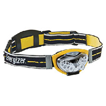 Energizer Batteries Yellow LED Headbeam Flashlight HDL33AINE