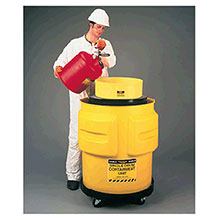 Eagle Manufacturing Single Drum Polyethylene Spill Control Containment 1612