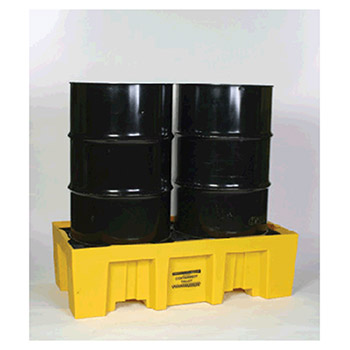 Eagle Manufacturing Two Drum Polyethylene Spill Control Pallet 1620
