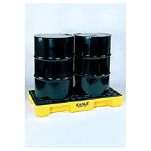 Eagle 1632 Two Drum (30 Gallon Capacity) Polyethylene Modular Spill Containment Platform