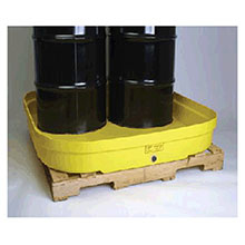 Eagle Manufacturing Four Drum Polyethylene Modular Spill Containment 1638