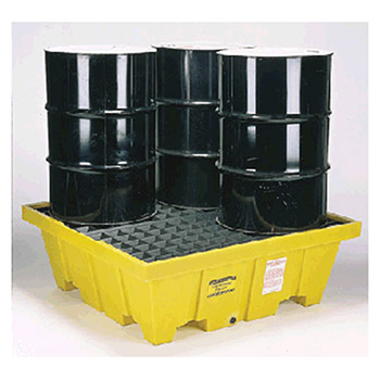 Eagle Manufacturing Four Drum Polyethylene Control Pallet Unit 1640