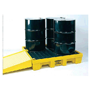 Eagle Manufacturing Four Drum Polyethylene Spill Control Low 1645