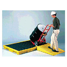Eagle Manufacturing Polyethylene Ramp Modular Spill Containment 1689