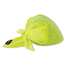 Ergodyne Chill Its Hi Vis Lime 6710CT Evaporative 12586