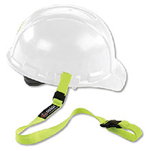 Ergodyne Lime Green Squids 3150 Hard Hat Lanyard 19150