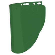 Fiber-Metal Honeywell Faceshields 4178 8in X 16 1 2in X .060in Dark Green 4178DGN