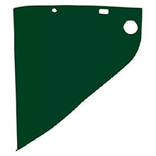Fiber-Metal Honeywell Faceshields 4199 9 3 4in X 19in X .060in Green Shade 4199IRUV5