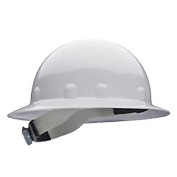 Fibre-Metal by Honeywell FIBE1RW01A000 White Class E Type I SuperEight Thermoplastic Hard Hat With 8-Point Ratchet Suspension
