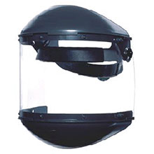 Fiber-Metal Honeywell Faceshields F 400 Noryl Dual Crown Ratchet Headgear FM400DCCL