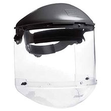 Fiber-Metal Honeywell Faceshields F 400 Noryl Dual Crown Ratchet Headgear FM400DCCLC