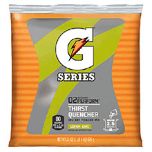 Gatorade 21 Ounce Instant Powder Pouch Lemon Lime 3969