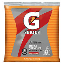 Gatorade 21 Ounce Instant Powder Pouch Fruit Punch 33691