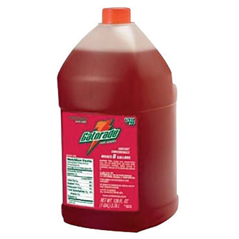 Gatorade GAT33977 1 Gallon Liquid Concentrate Bottle Fruit Punch Electrolyte Drink - Yields 6 Gallons