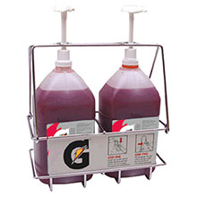 Gatorade Wire Rack Dispenser Two Pumps 49974