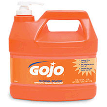Go-Jo Industries 1Gallon Bottle Natural Orange Orange Citrus 0945-04
