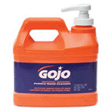 Go-Jo Industries 1 2 Gallon Pump Bottle Natural Orange Hand 0958-04