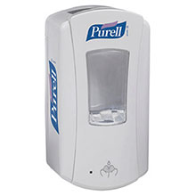 Go-Jo Industries White 1200 ml Purell LTX 12 Dispenser 1920-04