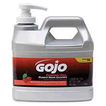 Go-Jo Industries 1 2 Gallon Pump Bottle Cherry Scented Gel 2356-04
