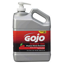 Go-Jo Industries 1Gallon Pump Bottle Cherry Scented Cherry 2358-02