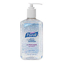 GOJO GOJ3659-12 12 Fluid-Ounce Pump Bottle Clear Purell Citrus Scented Advanced Instant Hand Sanitizer