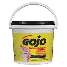 Go-Jo Industries 170 Count Bucket Scrubbing Wipes 6398-02
